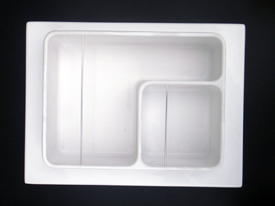 plastic formed refrigerator parts